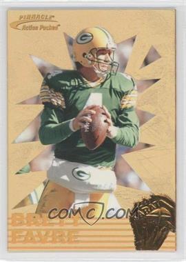 1996 Pinnacle Action Packed - 24 Karat Gold #1 - Brett Favre