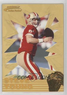 1996 Pinnacle Action Packed - 24 Karat Gold #9 - Steve Young