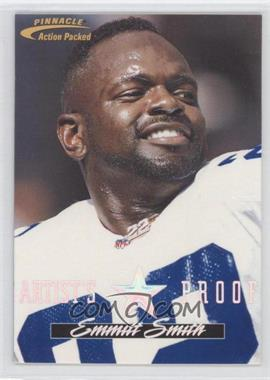 1996 Pinnacle Action Packed - [Base] - Artist's Proof #1 - Emmitt Smith