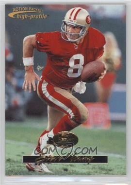1996 Pinnacle Action Packed - Promos #16 - Steve Young