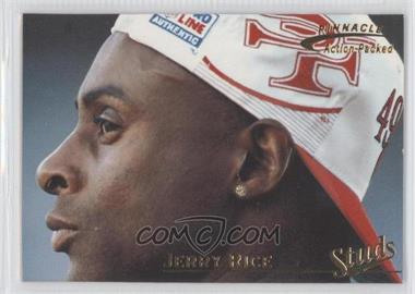 1996 Pinnacle Action Packed - Studs #3 - Jerry Rice /1500