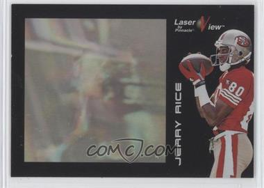 1996 Pinnacle Laser View - [Base] #16 - Jerry Rice