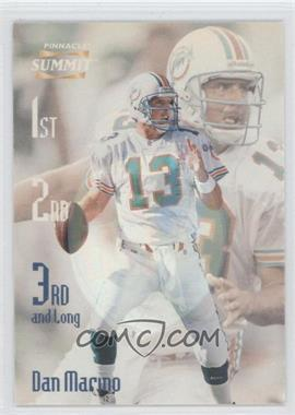 1996 Pinnacle Summit - 3rd and Long - Mirage #2 - Dan Marino /600
