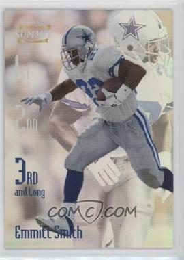 1996 Pinnacle Summit - 3rd and Long #10 - Emmitt Smith /2000