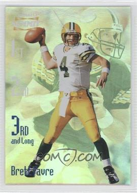 1996 Pinnacle Summit - 3rd and Long #6 - Brett Favre /2000