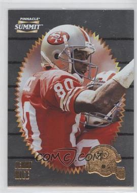 1996 Pinnacle Summit - [Base] - Foil #9 - Jerry Rice