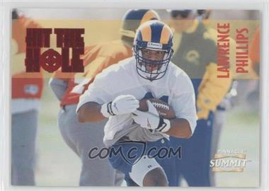 1996 Pinnacle Summit - Hit the Hole #8 - Lawrence Phillips /1000