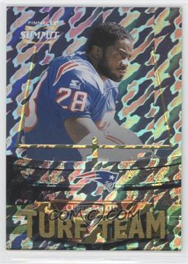 1996 Pinnacle Summit - Turf Team - Premium Stock #PSTT3 - Curtis Martin /500