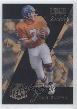 1996 Pinnacle Zenith - Z Team #16 - John Elway