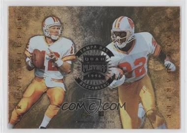 1996 Playoff Absolute - Quad Series #29 - Tampa Bay Buccaneers Team, Trent Dilfer, Alvin Harper, Jackie Harris, Horace Copeland