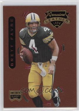1996 Playoff Contenders Leather - [Base] #1 - Brett Favre