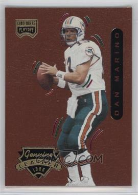1996 Playoff Contenders Leather - [Base] #13 - Dan Marino