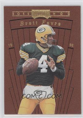 1996 Playoff Contenders Leather - Boss Hog #14 - Brett Favre