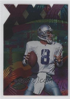 1996 Playoff Illusions - [Base] - 3XI Spectralusion #1 - Troy Aikman