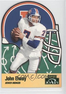 1996 Playoff Prime - X's & O's #162 - John Elway