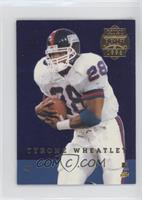 Tyrone Wheatley, Rodney Hampton [EX to NM]
