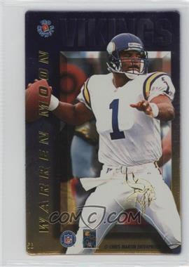 1996 Pro Magnets - [Base] #56 - Warren Moon