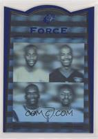 Jerry Rice, Carl Pickens, Isaac Bruce, Herman Moore [EX to NM]