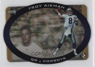 1996 SPx - [Base] - Gold #11 - Troy Aikman