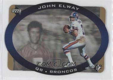 1996 SPx - [Base] - Gold #15 - John Elway