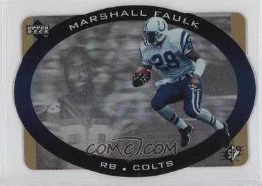 1996 SPx - [Base] - Gold #19 - Marshall Faulk