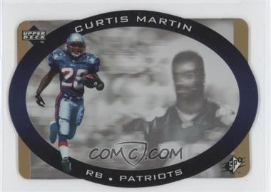 1996 SPx - [Base] - Gold #28 - Curtis Martin