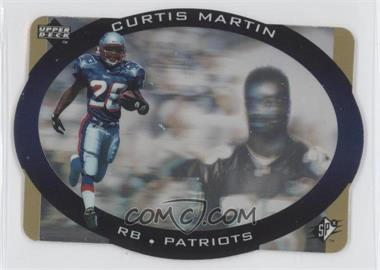 1996 SPx - [Base] - Gold #28 - Curtis Martin