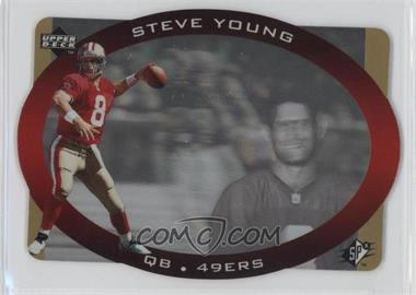 1996 SPx - [Base] - Gold #40 - Steve Young