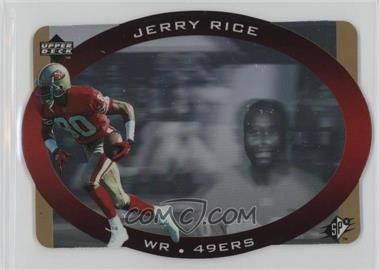 1996 SPx - [Base] - Gold #42 - Jerry Rice