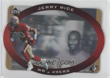 1996 SPx - [Base] - Gold #42 - Jerry Rice