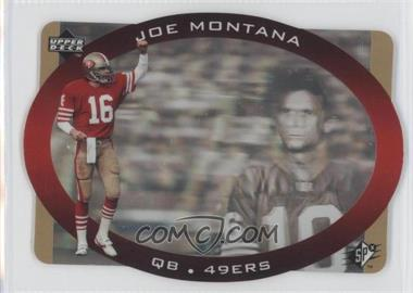 1996 SPx - [Base] - Gold #43 - Joe Montana