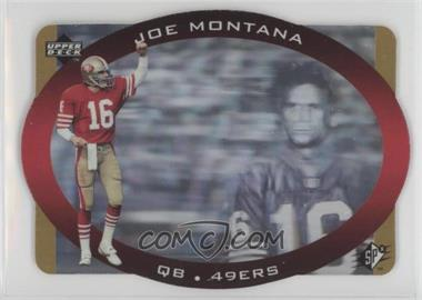 1996 SPx - [Base] - Gold #43 - Joe Montana
