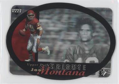 1996 SPx - Joe Montana Tribute #UDT-19 - Joe Montana
