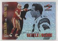 Kerry Collins, Steve Young