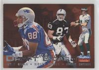 Terry Glenn, Rickey Dudley, Bobby Hoying