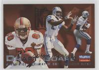 Jerry Rice, Herman Moore, Michael Irvin