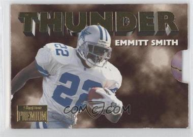 1996 Skybox Premium - Thunder & Lightning #1 - Emmitt Smith, Troy Aikman