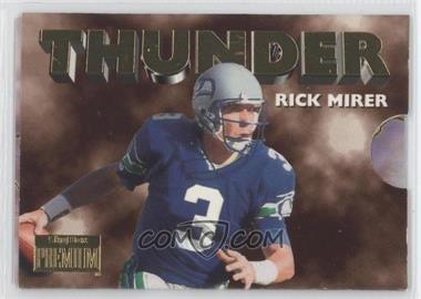 1996 Skybox Premium - Thunder & Lightning #10 - Rick Mirer, Chris Warren