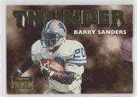 Barry Sanders, Scott Mitchell
