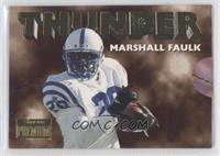 Marshall Faulk, Jim Harbaugh