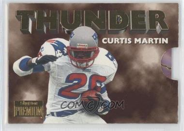 1996 Skybox Premium - Thunder & Lightning #8 - Curtis Martin, Drew Bledsoe