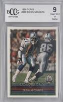 Deion Sanders [BCCG Near Mint]