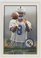 Marvin Harrison Rookie Card Rookie Year Football Cards