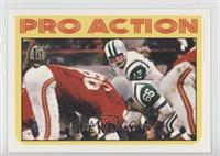 Joe Namath (1972 Topps Pro Action)