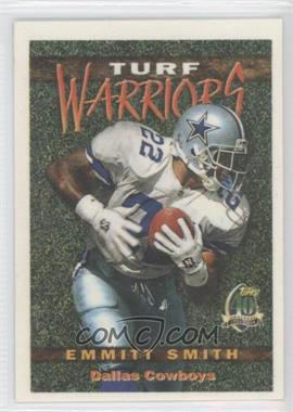 1996 Topps - Turf Warriors #TW13 - Emmitt Smith