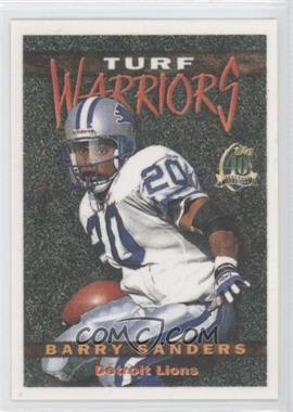 1996 Topps - Turf Warriors #TW20 - Barry Sanders