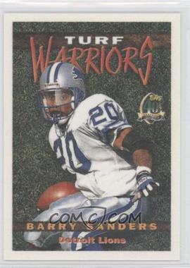 1996 Topps - Turf Warriors #TW20 - Barry Sanders