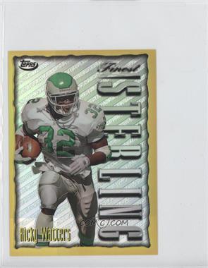 1996 Topps Finest - [???] #21 - Ricky Watters