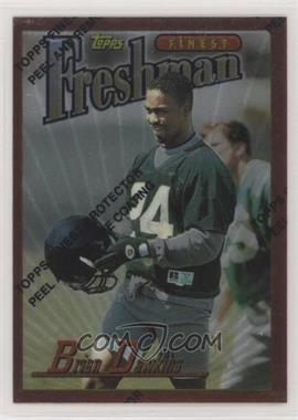 1996 Topps Finest - [Base] #344 - Brian Dawkins