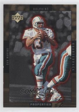 1996 Upper Deck - Hot Properties - Gold #HT-1 - Dan Marino, Drew Bledsoe